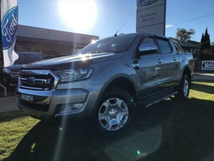 2015 Ford Ranger PX MkII XLT 3.2 (4x4) Silver 6 Speed Automatic Dual Cab Utility