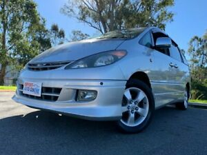 2000 Toyota Estima AWD Silver 4 Speed Automatic Campervan Kingston Logan Area Preview