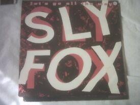 Vinyl 12in 45 Let's Go All The Way / Como Tu Te Llama? (Extended Remix )/ Sly Fox