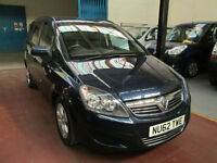 11 VAUXHALL ZAFIRA WHEELCHAIR ACCESSIBLE ADAPTED DISABLED