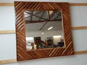 NEW Timber Framed Mirror