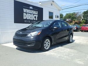 2013 Kia Rio SEDAN 6 SPEED 1.6 L
