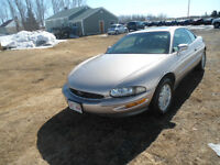 1995 Buick Riviera Gold leather Coupe (2 door)