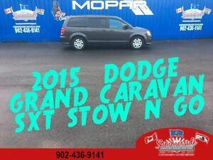 2015 Dodge Grand Caravan SXT STOW N' GO LOW KMS