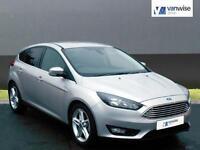 2016 Ford Focus ZETEC Petrol silver Manual