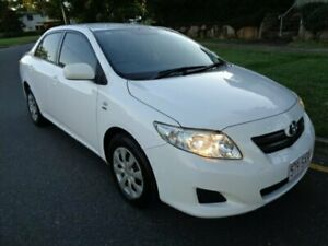 2009 Toyota Corolla ZRE152R MY09 Ascent White 4 Speed Automatic Sedan