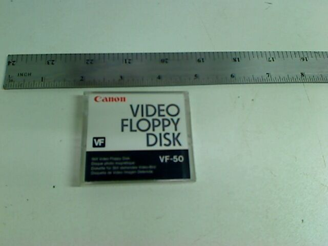 CANON VF-50 VIDEO FLOPPY DISK ( LOT OF 6 )