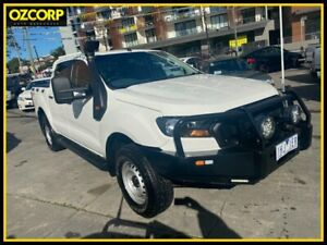 2016 Ford Ranger PX MkII MY17 XL 3.2 (4x4) White 6 Speed Automatic Crew Cab Utility Homebush Strathfield Area Preview