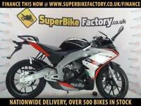 2017 APRILIA RS4 125CC 0% DEPOSIT FINANCE AVAILABLE
