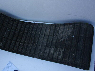 "Vintage Massey Fergusson Snowmobile Rubber 15"" Track 58L Lug SST"