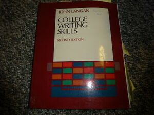 COLLEGE  WRITING SKILLS: essay writing  etc. Needed by students