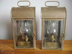 Copper oil lamps for sale