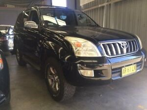2003 Toyota Landcruiser Prado GRJ120R GXL (4x4) Black 4 Speed Automatic Wagon Macquarie Hills Lake Macquarie Area Preview