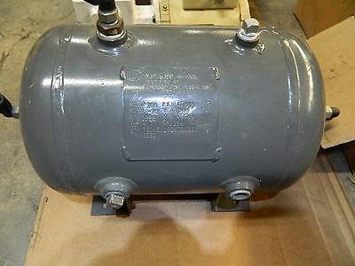 Brunner Eng. Horizontal Air Receiver Tank 200 Psi.