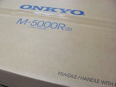 Onkyo M-5000R Reference Series Power Amplifier (Black) Brand NEW