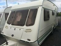 1995 Fleetwood Crystal 165/5. Superb Family 5-6 Berth in Immaculate Condition. Awning & Accessories