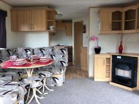 Static caravan sited with 3 bedrooms, sleeps 8 at Skipsea Sands near Hornsea