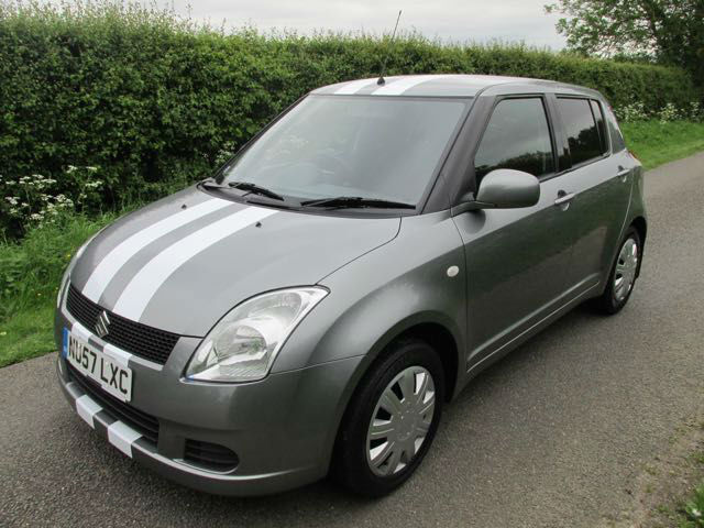 2007 57 suzuki swift 1 3 gl 5 door grey only 58 200 miles in lincoln lincolnshire gumtree. Black Bedroom Furniture Sets. Home Design Ideas