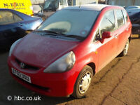 HONDA JAZZ 2007 1.3 5 SPEED MANUAL GEARBOX AND CATALYTIC AVAILABLE
