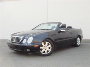 2003 Mercedes-Benz CLK320 |CERTIFIED| CONVERTIBLE| LEATHER|RARE|