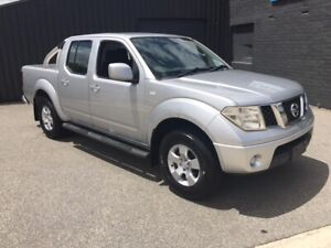 2011 NISSAN NAVARA 2.5LTR DIESEL TURBO ST (4x4) AUTOMATIC DUAL CAB  Bayswater Bayswater Area Preview