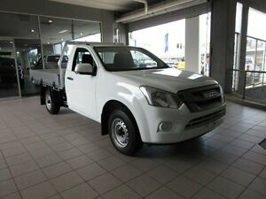 2017 Isuzu D-MAX SX Splash White Manual Single Cab Chassis Thornleigh Hornsby Area Preview