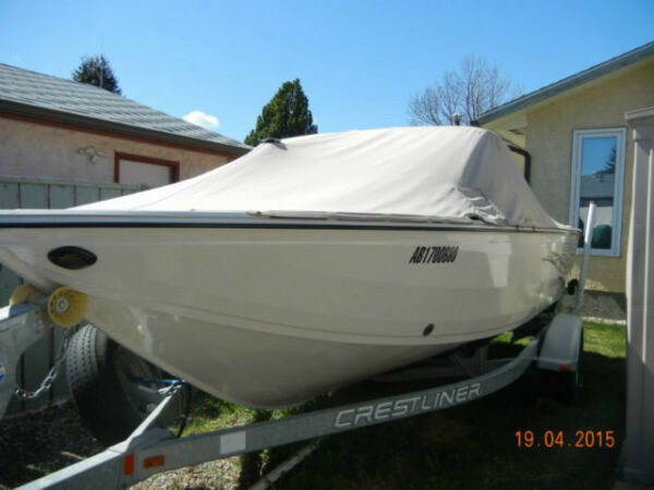 Used 2008 Crestliner Super Hawk