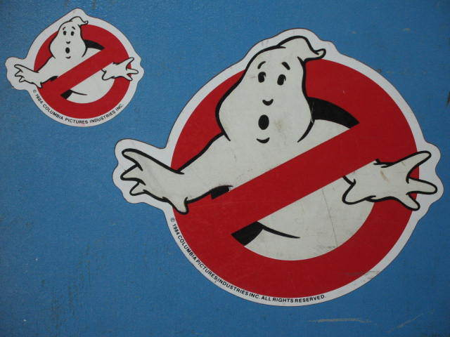Ghostbusters Magnet Ghostbuster Original LARGE Size Ghost GLOWS Movie Film USA