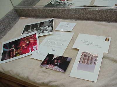 #184 SIGNED LETTER BY NANCY REAGAN SENATOR SCOTT BROWN FLORIST DAVID JONES 5 LOT