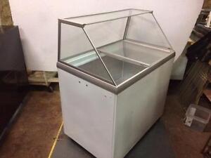 Ice Cream Dipping Cabinet Freezer