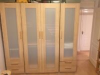 IKEA multipurpose wardrobe with 3 pieces