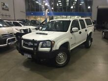 2010 Holden Colorado RC MY10 LX (4x4) White 5 Speed Manual Crewcab Beckenham Gosnells Area Preview