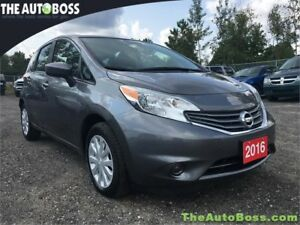 2016 Nissan Versa Note SV CERTIFIED! HAIL SALE! BIG SAVINGS!