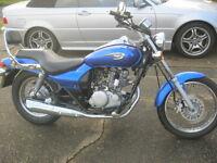 KAWASAKI BN 125 A6F ELIMINATOR CUSTOM CRUISER MOTORCYCLE-2006-FULL 12 MONTH MOT