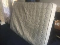 Expensive £400 Worth Double Bed Mattress In Lovely Condition For Only £20 - Was In Second Home