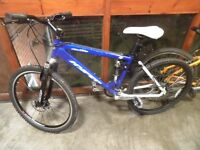 HIS / HERS UNISEX DISC BRAKE MOUNTAIN BIKES £59