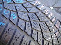235/40/19 Dunlop SP Winter Sport 3D, M+S Winter, Audi, XL, 5.0mm (456 Barking Rd, Plaistow, E13 8HJ)