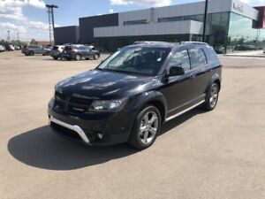 2018 Dodge Journey AWD CROSSROAD Accident Free,  Navigation,  Le