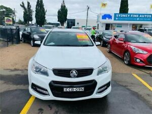 2015 Holden Commodore VF MY15 SV6 Sportwagon Storm White 6 Speed Sports Automatic Wagon Minchinbury Blacktown Area Preview