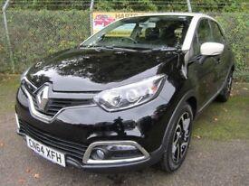 Renault Captur 1.5 Dynamique S MediaNav dCi 90 5dr Automatic Turbo Diesel EDC (black/cream) 2014