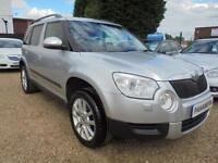 2013 13 SKODA YETI 2.0 ELEGANCE TDI CR 4X4 5DR 140 BHP DIESEL FULL LEATHER FINAN