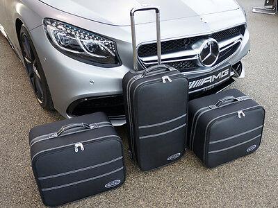 Mercedes S KLASSE Cabriolet C217 A217 Roadster Gepäck Tasche Gepäck Satz