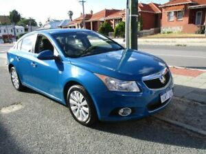 2014 Holden Cruze JH Series II MY14 CDX Blue 6 Speed Sports Automatic Sedan West Perth Perth City Area Preview