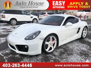 2014 PORSCHE CAYMAN S NAVIGATION LOW KMS!