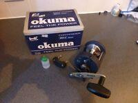 Okuma Contender 30c multiply fishing reel