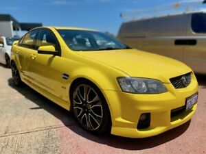 2010 Holden Commodore VE II SS V Redline Yellow 6 Speed Sports Automatic Sedan Canning Vale Canning Area Preview