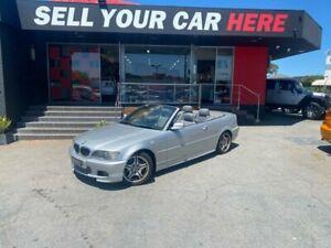 2003 BMW 3 Series E46 330Ci Convertible 2dr Man 5sp 3.0i [MY02] Silver Manual Convertible Como South Perth Area Preview