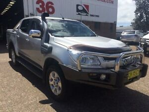 2012 Holden Colorado RG LTZ (4x4) Silver 6 Speed Automatic Crewcab Macquarie Hills Lake Macquarie Area Preview