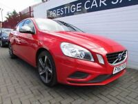 VOLVO S60 2.0 D4 R-DESIGN 4d 161 BHP (red) 2012
