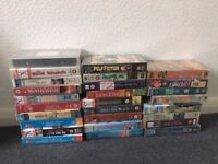 collection of vhs video tapes , all the best movies films on video